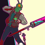 Carl: Hotline Miami by jouste