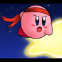 KIRBY - AMONGST THE STARS by GirShinobi