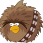 Angry Birds Star Wars - Chewie by LAVAGASM