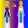 Princess Zelda Revamped by DARKRYAN