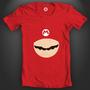 Minimalist Mario T-shirt Conce by MJIB