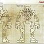 Skull-9 Robot by painteddemons