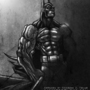 Batman by painteddemons