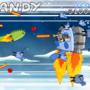 Candy Vs Megasaur by asittingduckltd