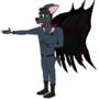 Edward the Bat by Lakword