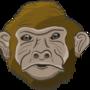 Just dat monkey by Senjecko