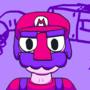 Mario In Doodleland by neonpaint