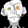 Cyborg Monkey by Turd