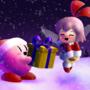 Kirby's Christmas Gift by Mario644
