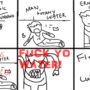 Fuck Yo Water by cwilfordcomics
