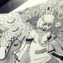 Coffee doodle by sweetyluli
