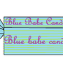 Blue babe candy! by allisonwolf2
