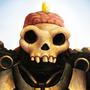 Skull by LlamaReaper