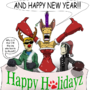 Purrfect Holidayz by MST3KMAN