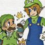 Link_Luigi_mario? by MAZEGREEN
