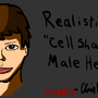 Realistic Male Head by utubedude8245onNG