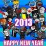 Madness Happy New Year 2013 by GabrielBarsch
