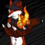 Fox Flame Wiccan by KirkWoolf
