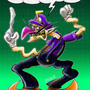 Waluigi by ronnieraccoon