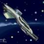 Asteroid Escape art by oladitan