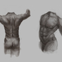 Male torso from memory by alexjmold