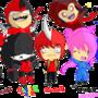 Crazy Family by PsychoZombii