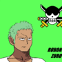 Pirate hunter Zoro by Manlypitts