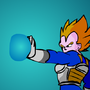 Vegeta (Super Saiyan) by PebbleStudios