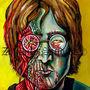 John Lennon Zombie Portait by ZombifyStudios