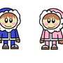 Me Drawing the Ice Climbers by dreamboy125
