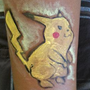 Body Painting - Pikachu by joejamz99