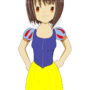 Snow White Haruhi by JAhU-00