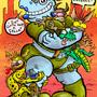 Hippo Hi-Jinks by JWBalsley