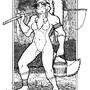 Fisherwoman by megawolf77