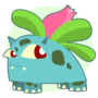 Ivysaur by Gerkinman