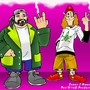 Jay and Silent Bob by jamusdu