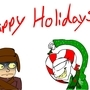 Happy Holidays! by EEE-the-undead