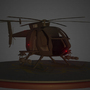 AH-6 Little Bird (Night) by KidneyThief