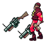 TF2 Sprites: Demoman by BananaBuddy