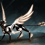 Futuristic Sphinx by Amaruuk