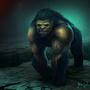 Mutant Gorilla Beast by LlamaReaper