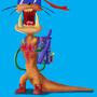 animal gone crazy!!! by creative-paradox
