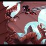 Shark Dragon Fight