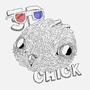 3D Chick by AlexelMono
