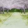 High school walkway by Kel-chan