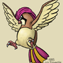 Pidgeotto by Mabelma