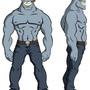 Drunken Demon Character Design by Mackie85