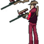 TF2 Sprites: Sniper by BananaBuddy