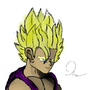SSJ2 gohan by Manlypitts