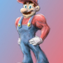 Supah Mario by LegendofDelza